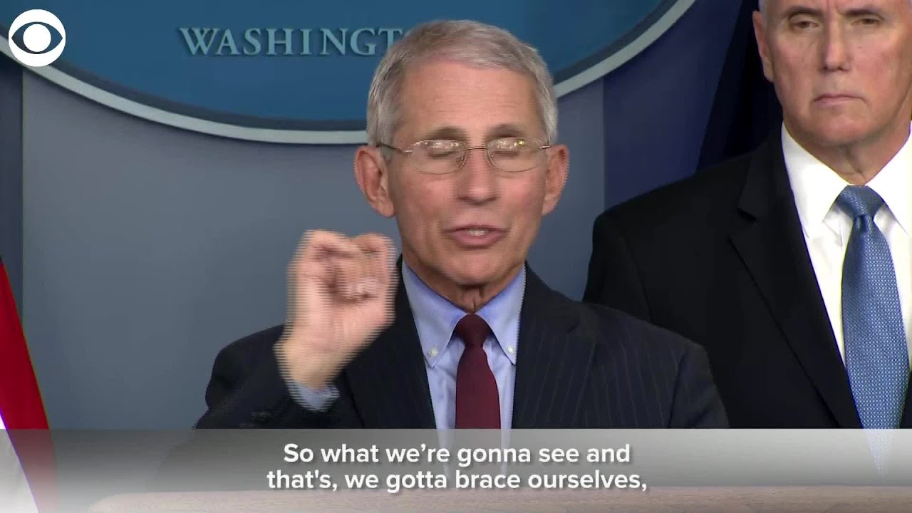 WEB EXTRA: Dr. Fauci Says Mitigation Is Working
