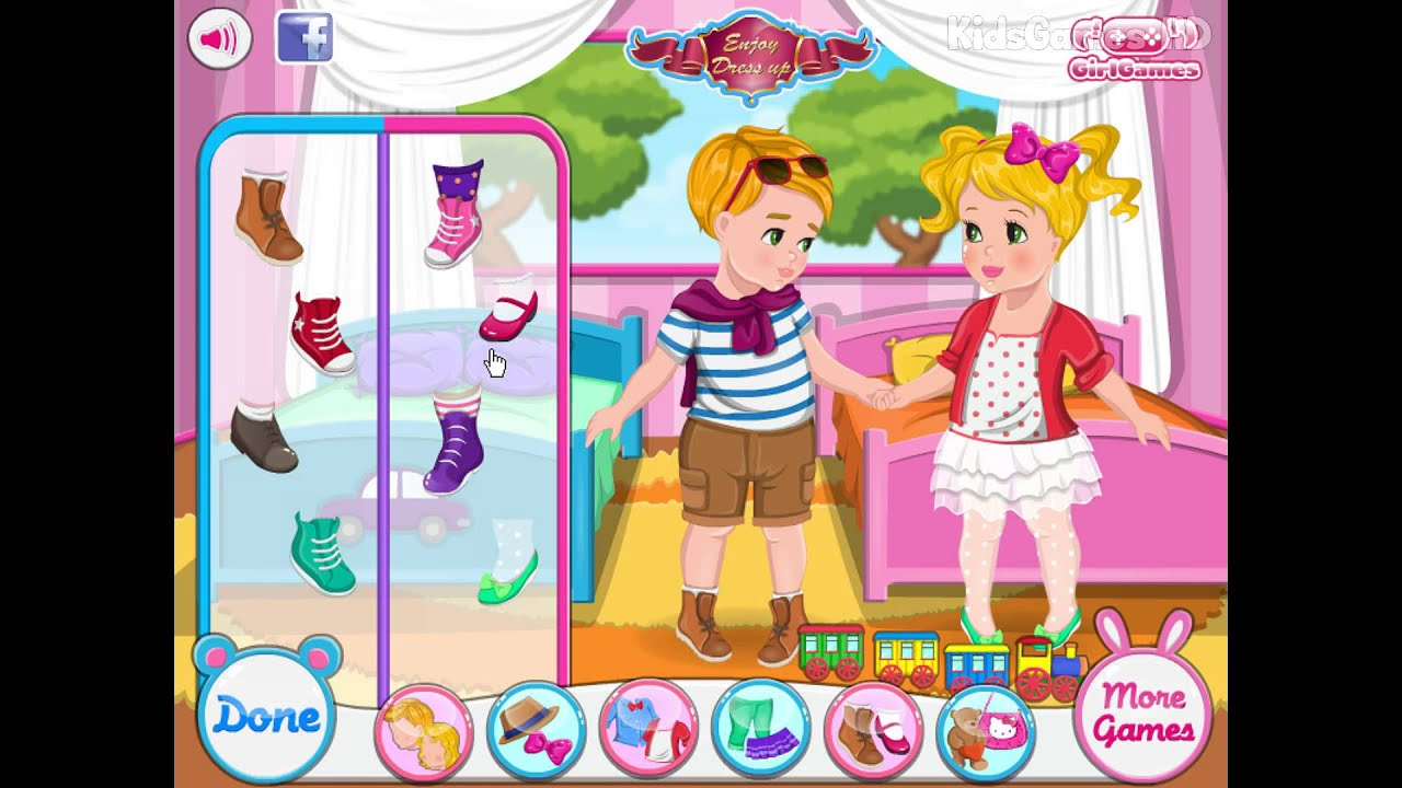 Baby Video - Baby Double Shower Game - Baby Game for Kids ...