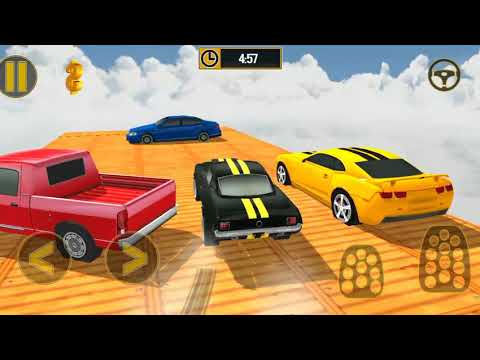 SKY HIGH CARS GAMES Free Car Racing Stunt Game | Kids Games To Play For Free | Kids Games Download