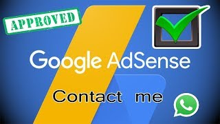 For Adsense Approval - Contact me