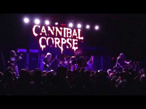 Cannibal Corpse - Jeff Hanneman tribute/ Hammer Smashed Face (live)