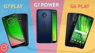 Moto G7 Play vs. Moto G6 Play vs. Moto G7 Power   Comparativo!