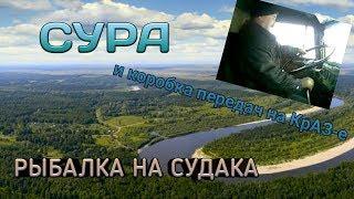 Русская Рыбалка 4 Судак на Реке СУРА! Или коробка передач на КрАЗ-е:)