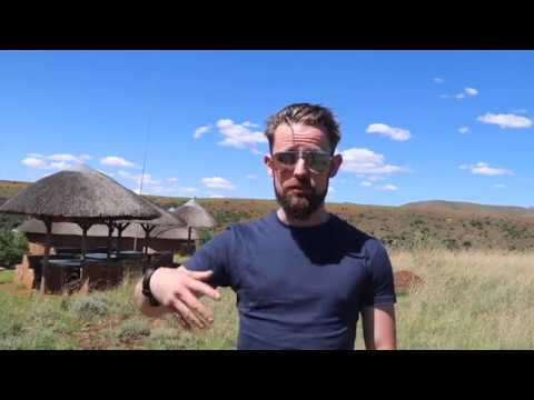 Lesotho Vlog #5 - Kids and Cave Paintings