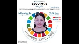 Conferencia La Importancia de la Información para el Cumplimiento de los ODS con Mariana Castro