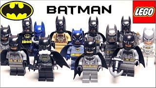 Минифигурки LEGO Batman моя коллекция