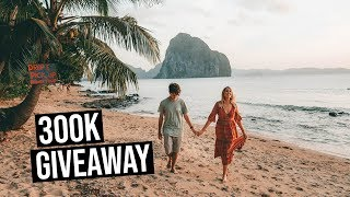 300K GIVEAWAY | Win a Tour to The Philippines