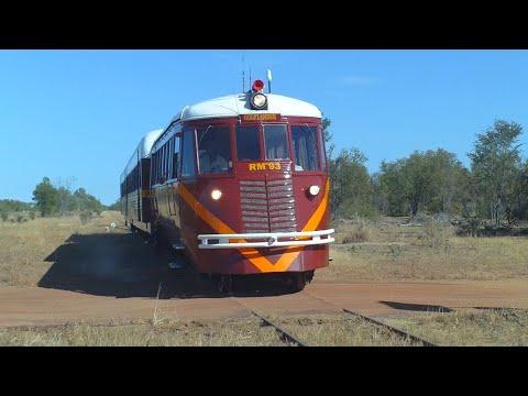Gulflander to Croydon North Queensland