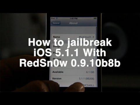 Jailbreak iOS 5.1.1 with RedSn0w
