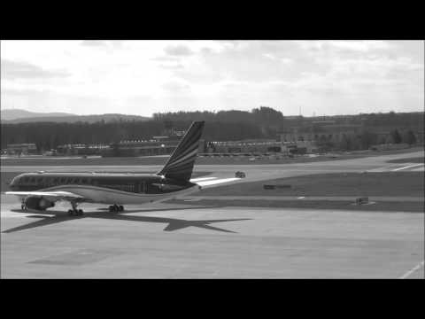 Taxing Azerbaijan Government Boeing 767-32L/ER ZRH