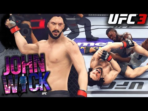 EA UFC 3: John Wick Is A Submission Specialist! UFC 3 Online Gameplay