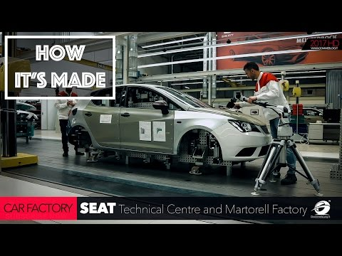 CAR FACTORY: HOW IT'S MADE the New SEAT Technical Centre and Martorell Factory