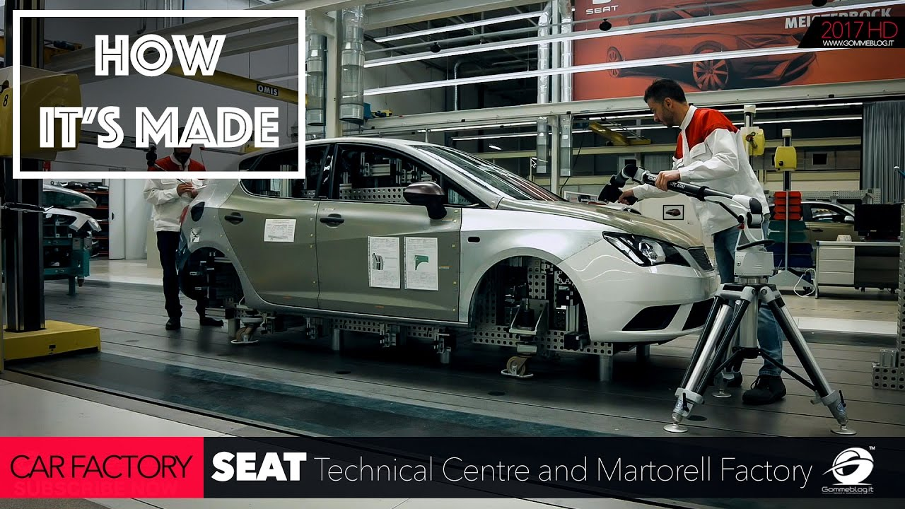 CAR FACTORY: HOW IT'S MADE the New SEAT Technical Centre and ...