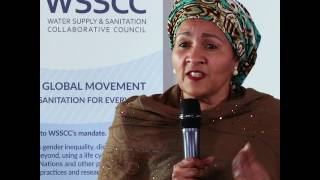 UN Deputy Secretary Amina J. Mohammed on sanitation as a docking station