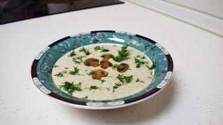 Грибной суп пюре из шампиньонов / Обалденный крем суп из грибов