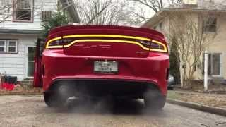2015 Dodge Charger SRT Hellcat Startup Exhaust Note