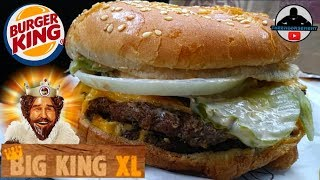 Today I review the NEW Big King XL from Burger King®! Burger King's...