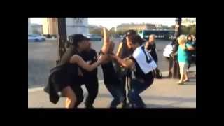 Vice Ganda, Team Vice & Angeline Quinto Hair Dance in Paris
