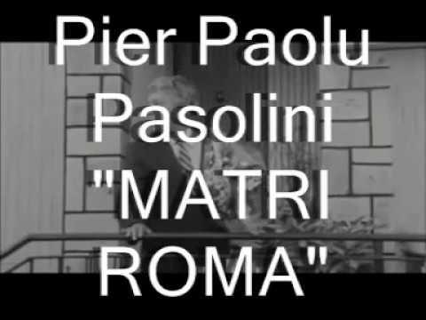 Pier Paolu Pasolini, riggista sicilianu