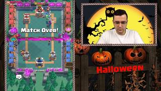 Clash Royale - Halloween DRAFT Challenge - Мачкам
