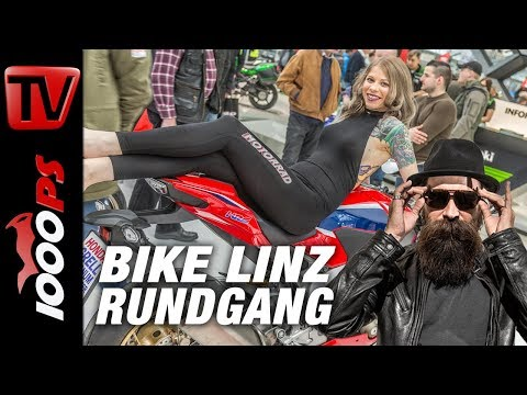 Bike Linz 2018 Rundgang - Alle Highlights 2018