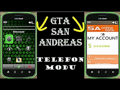 EFSANE TELEFON MODU (GTA San Andreas)