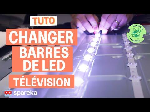 Comment remplacer les barres de LED de votre télévision LG ?