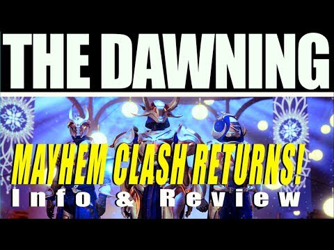 Destiny 2 Intel - The Dawning! Mayhem Gameplay & Live Commentary