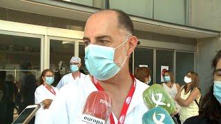 Celadores de Cáceres piden un mayor reconocimiento de su profesión