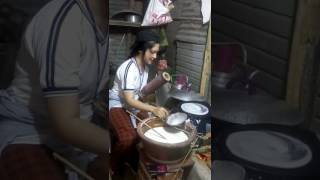 Học làm bánh tráng Tây Ninh.
