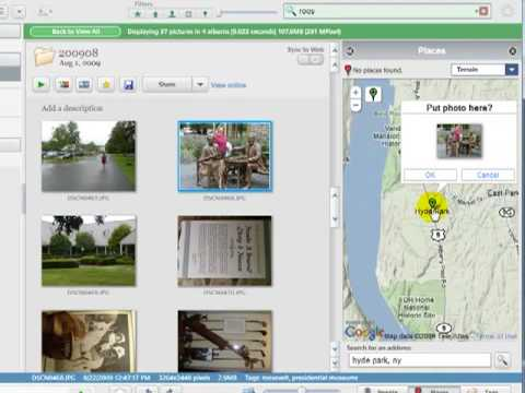Geotagging Photos with Picasa 3.5