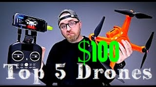 Top 5 best drones available now 2017 / autel x-star drone 4k camera you can buy (under 100)