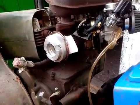 переделанный коллектор двигателя УД2