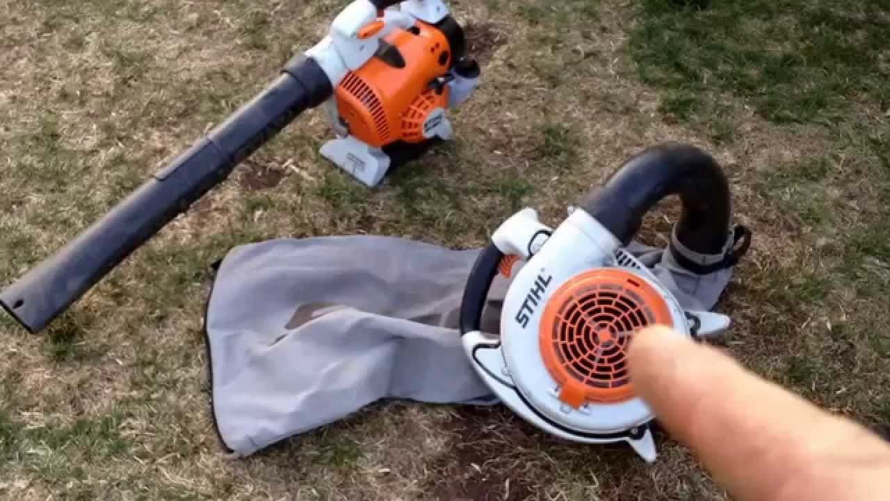 Stihl Sh 86c Blower And Shredder Vac Youtube