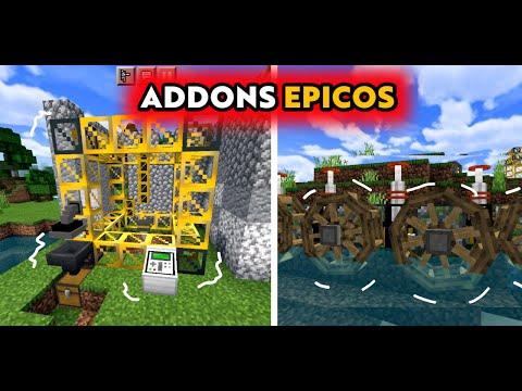 El MEJOR ADDON DE MÁQUINAS PARA MINECRAFT PE 1.16   Geckos-Gizmos Mod (BEDROCK) industrial craft