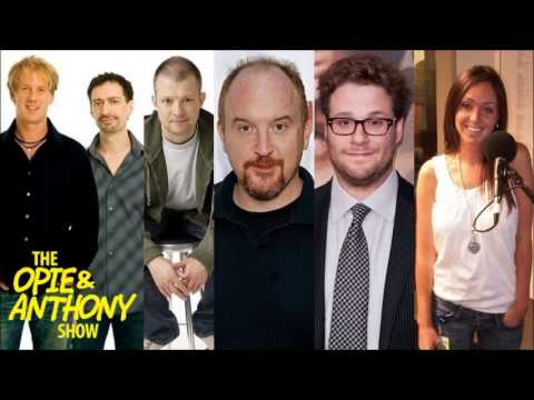 Opie & Anthony - Louis CK, Seth Rogen & Intern Jamie