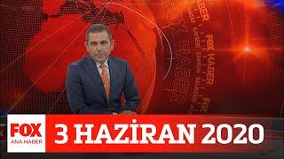 Yeni hasta ve ölümler azalıyor! 3 Haziran 2020 Fatih Portakal ile FOX Ana Haber