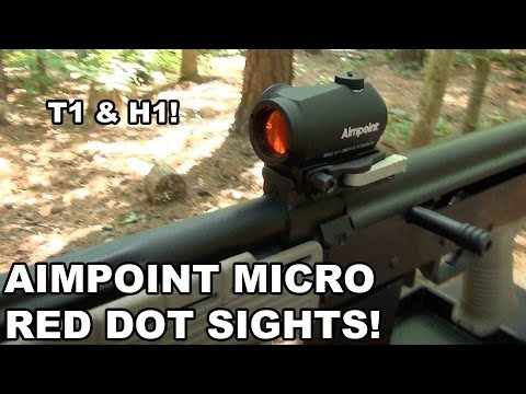 Aimpoint Micro Red Dot Sights! T1 & H1 Compared