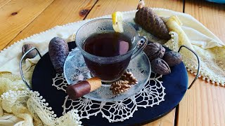 Caj me arra - Tea with nuts