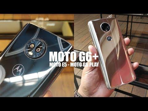 Moto G6 Plus + G6 Play + Moto E5 | LA IMPRESIONANTE SEXTA GENERACIÓN DE MOTOROLA