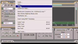 Adobe Audition. Урок 16: Добавление данных на трек