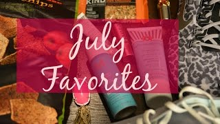 July Favorites Thumbnail