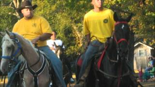 Video Of Black Cowboys In Walnut Grove Mississippi - Beautiful Horses - Ride