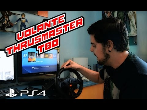 Review Volante Thrustmaster T80 + Carrera F1 Project CARS (PS4) | Vlog Gamer