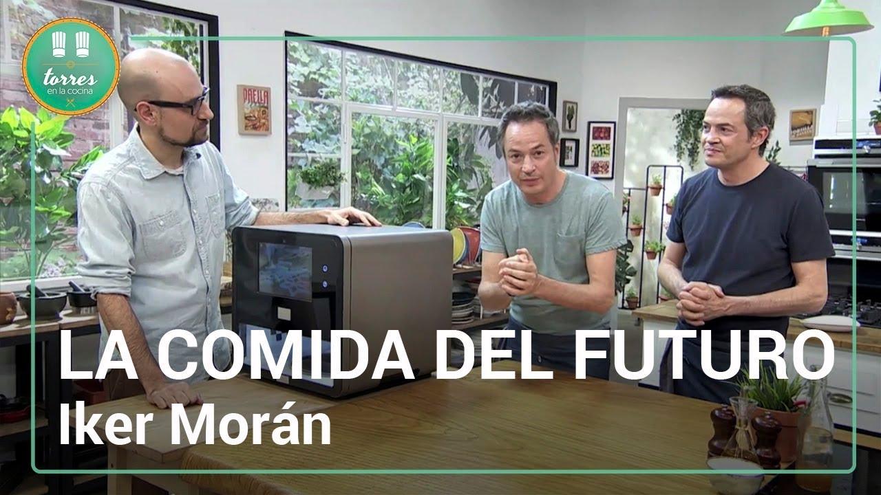 Iker mor n c mo ser a comida del futuro torres en la for Torres en la cocina youtube
