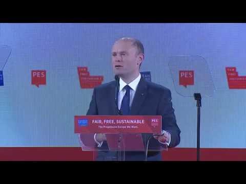 Speech by Joseph Muscat, Prime Minister of Malta