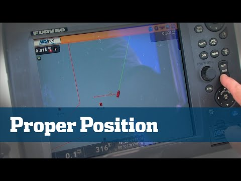 Florida Sport Fishing TV - Pro's Tip Proper Boat Position Anchoring Drifting