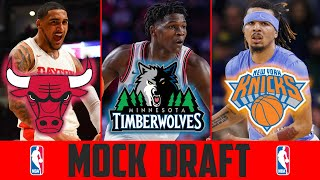 NBA Mock Draft 2020 Post Lottery