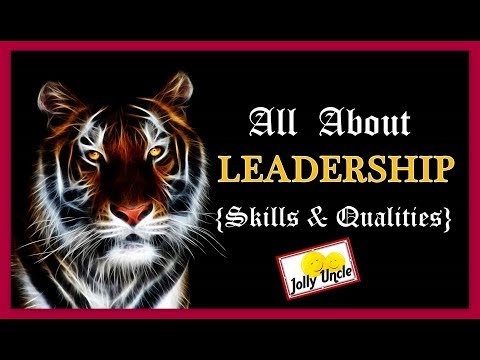 All about Leadership video by BRADLEY CHAPMAN Chat with JOLLY UNCLE