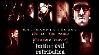 Resident Evil Retribution - End Of The World [Extended]